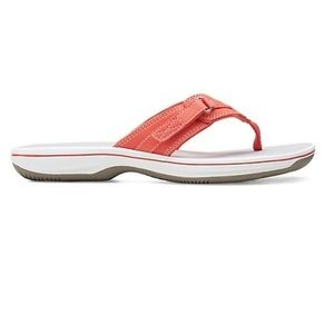 Clark's Cloud Stepper Breeze Sea Flip Flops